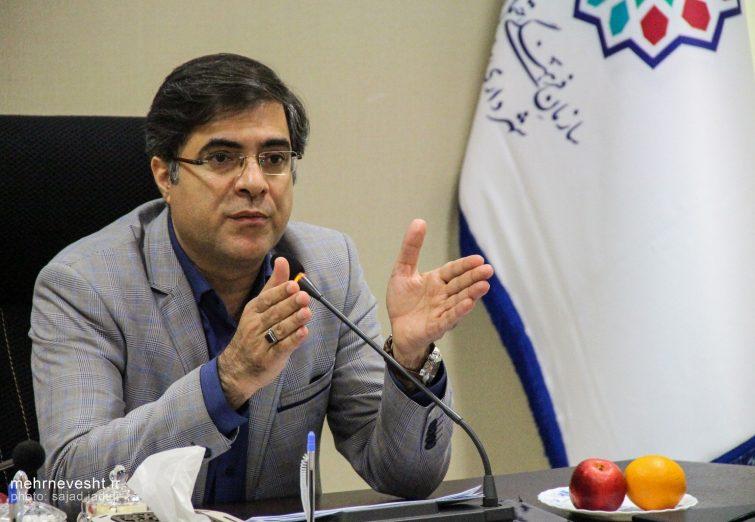 نشست خبری رئیس سازمان فرهنگی، اجتماعی و ورزشی شهرداری یزد
