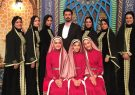 هنرنمایی بانوان دفنواز یزدی در تلویزیون عراق