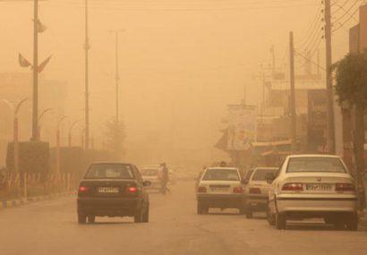 گرد و خاک، یزد را در نوردید/ وزش ۱۱۵ کیلومتر باد در هرات
