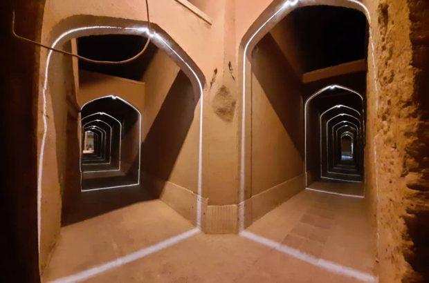 هایلایت نور در هندسه بافت تاریخی شهر جهانی یزد